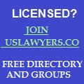 Join USLawyers.com - Attorney Directory and Groups!
